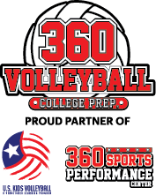 360 Volleyball logo