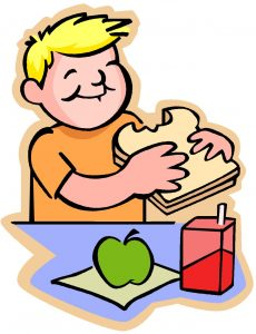 kid-eats-breakfast-clipart