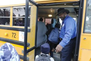 Michael Lynch bus driver for Duncanville ISD