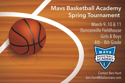 Dallas Mavs Spring Tournament
